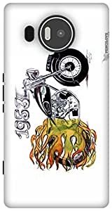 The Racoon Grip The Royal Ride hard plastic printed back case / cover for Microsoft Lumia 950 XL