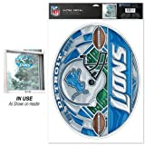 Detroit Lions Ultra Decal Stained Glass at Amazon.com