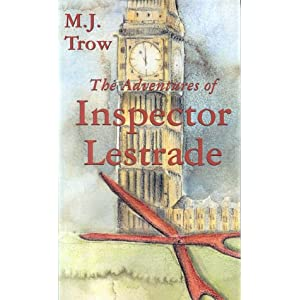 M.J. Trow - The Adventures Of Inspector Lestrade Audiobook (7 cds)