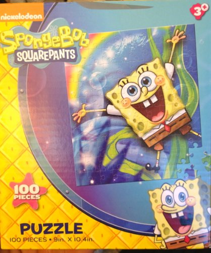 Nickelodeon SpongeBob SquarePants Puzzle 100 Pieces (1 of 4 images shown) - 1