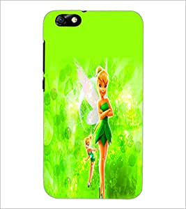 PrintDhaba Cute Doll D-2111 Back Case Cover for HUAWEI HONOR 4X (Multi-Coloured)