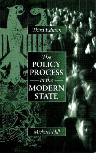 Policy Process In The Modern State (3rd Edition)