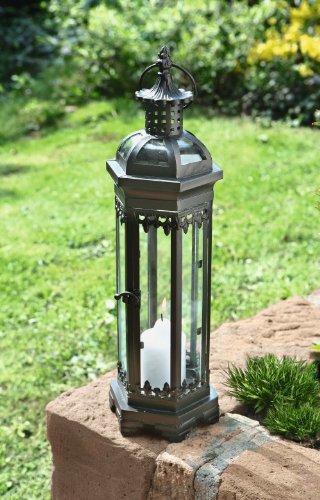 Metal Moroccan-style Candle Lantern - 19.25