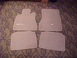 Toyota Genuine Parts PT208-50010-11 OEM Lexus LS430 Charcoal Carpet Floor Mat Set