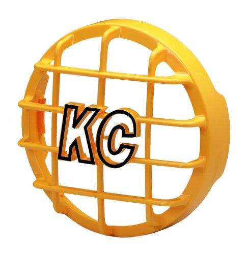 "Kc Hilites 7213 6"" Yellow Abs Stone Guard - Single Guard"