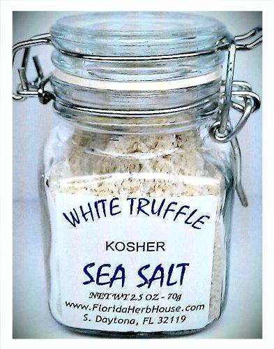 White Truffle Sea Salt 2.5 oz. (70g) - Eco Friendly