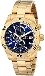 Invicta Men's 17751 Specialty Gold-Tone Stainless Steel Watch