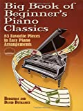 Bergerac Big Book of Beginner's Piano Classics (Big Book Of... (Dover Publications))