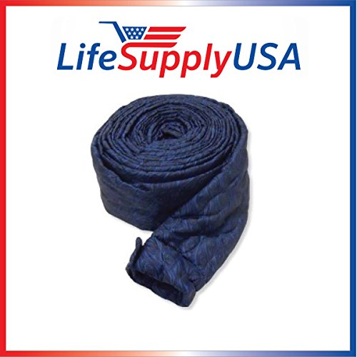 35 Ft Quilted Padded Central Vacuum Hose Cover with Zipper (Vac Hose Sock compare prices)