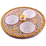 Craft And Craft Handicrafts's Revolving Dry Fruit Set - B00LX6DQVU