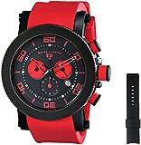Swiss Legend Men's 30465-BB-01-RDAS Cyclone Analog Display Swiss Quartz Red Watch