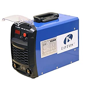 LOTOS TIG140 140amp DC TIG/Stick TIG Welder Dual Voltage by Lotos Technology