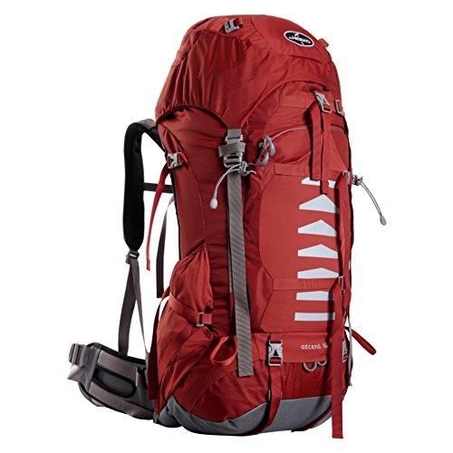 Professional sac d'escalade en plein air / grande capacité sac de randonnée imperméable / sac de Voyage de l'épaule-rouge 60L