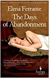 The Days of Abandonment: 10th Anniversary Edition