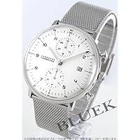 [ユンハンス]JUNGHANS 腕時計 マックスビル クロノスコープ オートマチック クロノグラフ シルバー メンズ 027/4003.44 [並行輸入品]