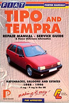 fiat tipo and tempra repair manual service guide and. Black Bedroom Furniture Sets. Home Design Ideas
