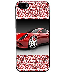 PrintDhaba Car D-2514 Back Case Cover for APPLE IPHONE 4S (Multi-Coloured)