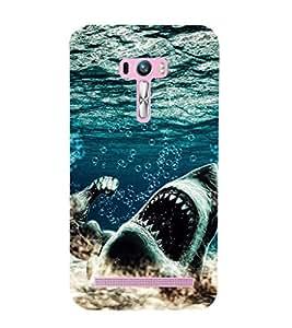 EPICCASE King Shark Mobile Back Case Cover For Asus Zenfone Selfie (Designer Case)
