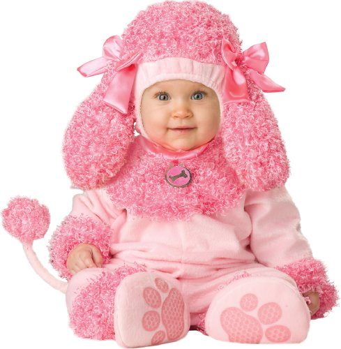InCharacter Unisex-baby Newborn Poodle Costume, Pink, Small (6 Months-2 Years) (Pink Poodle Baby Costume)