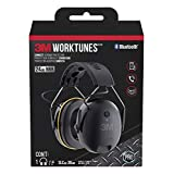 3M WorkTunes Connect Hearing Protector with Bluetooth Technology (Renewed) (Color: Blue, Tamaño: 3M)
