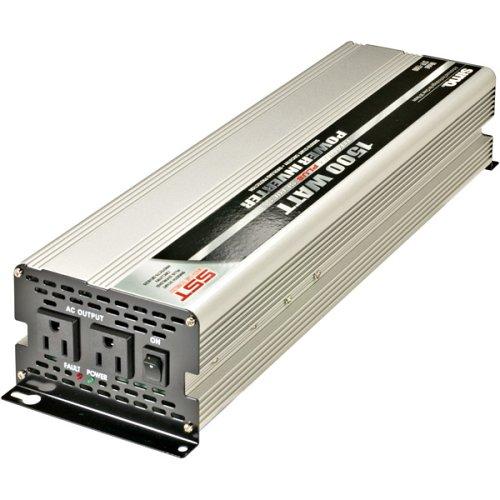 12V DC Sima STP-120 DC-to-AC Power Inverter Continuous Power:120W 120V AC