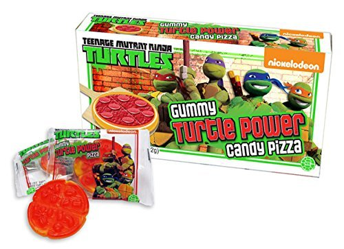 Teenage Mutant Ninja Turtles Gummy Turtle Power Candy Pizza 3-pack