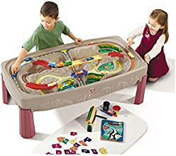 Step2 Deluxe Canyon Road Train amp Track Table