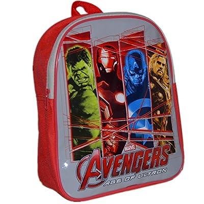 MARVEL® Avengers Official Kids Children School Travel Rucksack Backpack Bag - Incredible Hulk, Iron Man, Captain America, Thor from MARVEL® Avengers