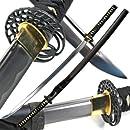 Ace Martial Arts Supply Classic Crane Tsuba Handmade Samurai Katana Sharp Sword