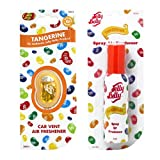 JELLY BELLY TANGERINE VENT CLIP + SPRAY AIR FRESHENER SCENT SET