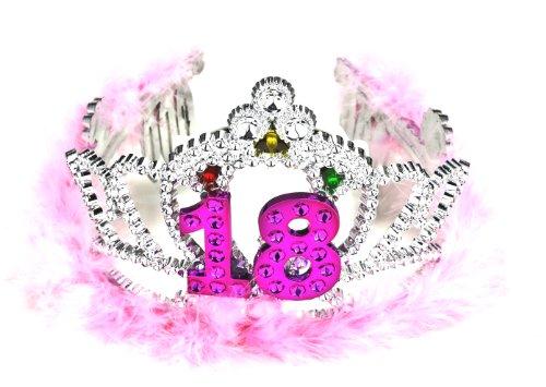 Forum Novelties Flashing Birthday Tiara #18 Novelty Item