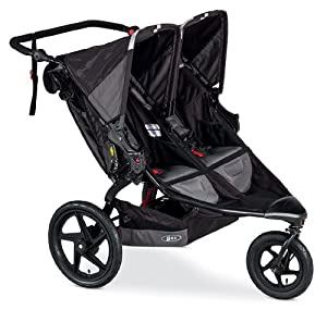 BOB Revolution Flex Duallie Stroller, Black