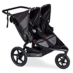 BOB Revolution Flex Duallie Stroller Black