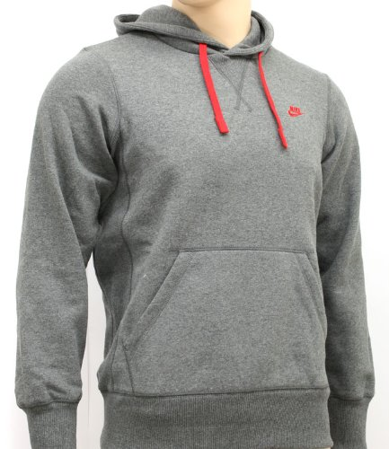 Nike Mens Charcoal Hooded Sweatshirt Hoody Size XL 071