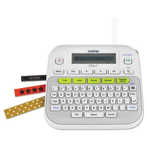 Brother P-Touch PT-D210 Label Maker (Brother Label Makers compare prices)