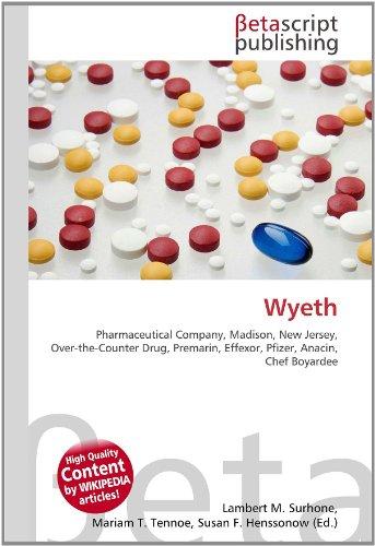 wyeth-pharmaceutical-company-madison-new-jersey-over-the-counter-drug-premarin-effexor-pfizer-anacin