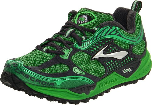 Brooks Men's Cascadia 6 M Spdgrn/Anthracite/Silver Trainer 1100911D321 10.5 UK, 11.5 US