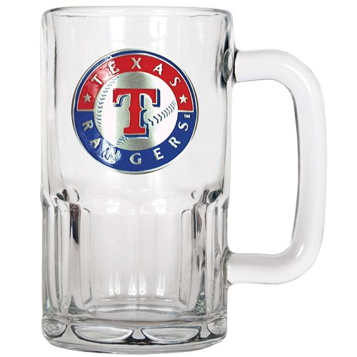 MLB Texas Rangers 20-Ounce Root Beer Style Mug - Primary Logo at Amazon.com