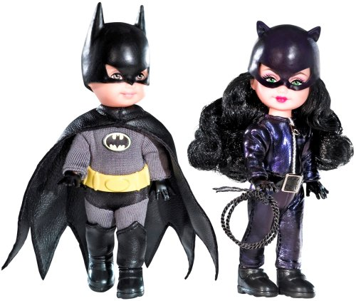 Barbie-Celebrity-Kelly-Batman-Catwoman-gift-set-N2689-pink-label-japan-import
