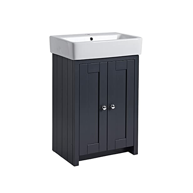 Tavistock maniglia per vasca e lavabo grigio scuro 550