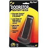 "Master Manufacturing 00920 2"" Width x 4-3/4"" Long x 1-1/4"" Height, Brown Color, Big Foot Doorstop"