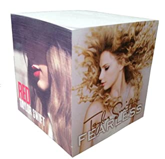 Taylor Swift Albums Note Cube