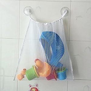 Feichen Malla para juguetes de baño Bebé Juguetes Bolsa de Almacenamiento de Juguete en BebeHogar.com