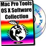 Mac Pro Tools OS X software collection 2-disks DVD set