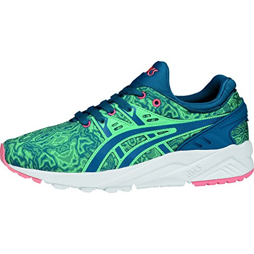 ASICS Women's Gel-Kayano Trainer Evo Fashion Sneaker, King Fisher/Sea Port, 9 M US