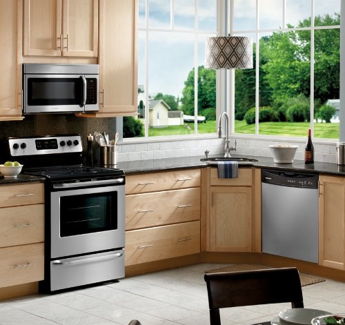 cheap frigidaire stainless steel 4 piece appliance package 149 shopping online in usa. Black Bedroom Furniture Sets. Home Design Ideas
