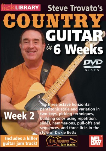 Steve Trovato's Country Guitar in 6 Weeks Week 2 [DVD] [Import]