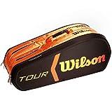 Wilson(ウイルソン) ツアー モルテッド 2.0 9PK バッグ ブラック×オレンジ WRZ841509