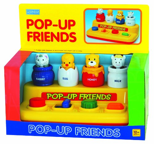 Pop-Up Toy: Rabbit, Chick, Bear, And Cow -Affordable Gift For Your Little One! front-108223