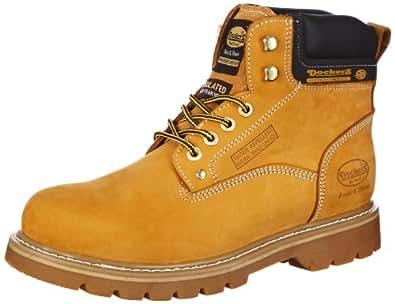 Dockers by Gerli 331102-003093, Herren Desert Boots, Gelb (golden tan 093), 44 EU (10 Herren UK)
